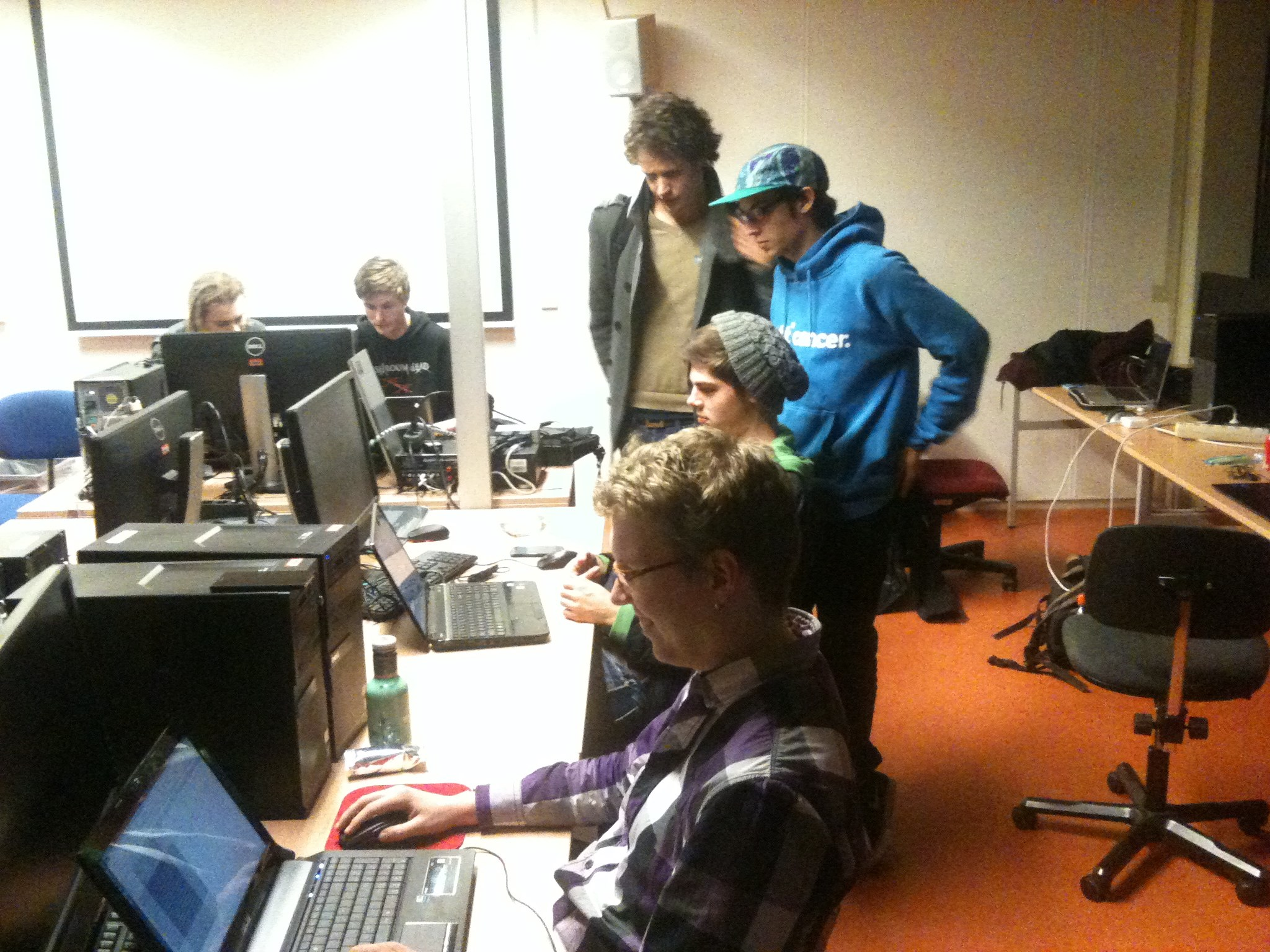 1 Hour Code Jam attendees
