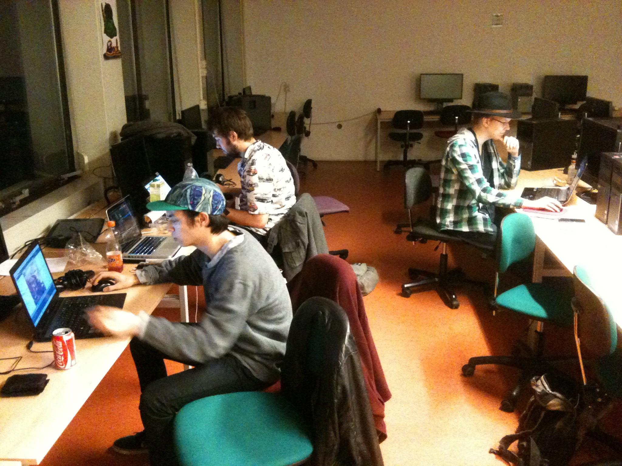 1 Hour Code Jam attendees