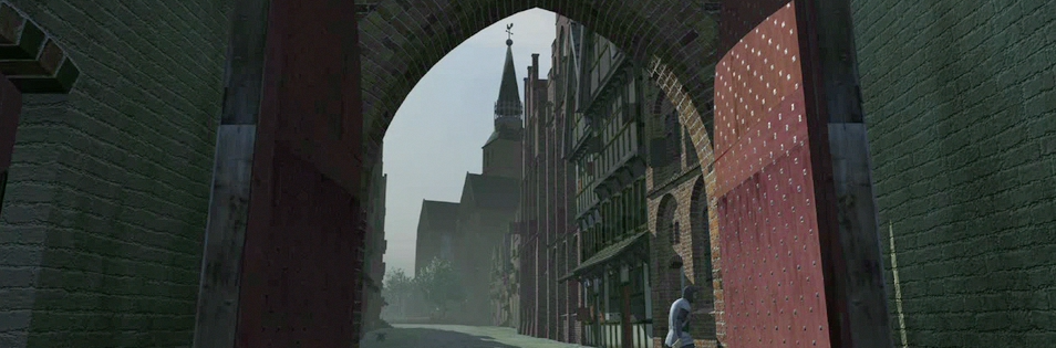 'A straat' - Screenshot from the movie.