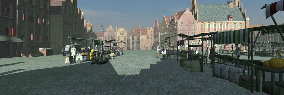'Grote Markt' - Screenshot from the movie.