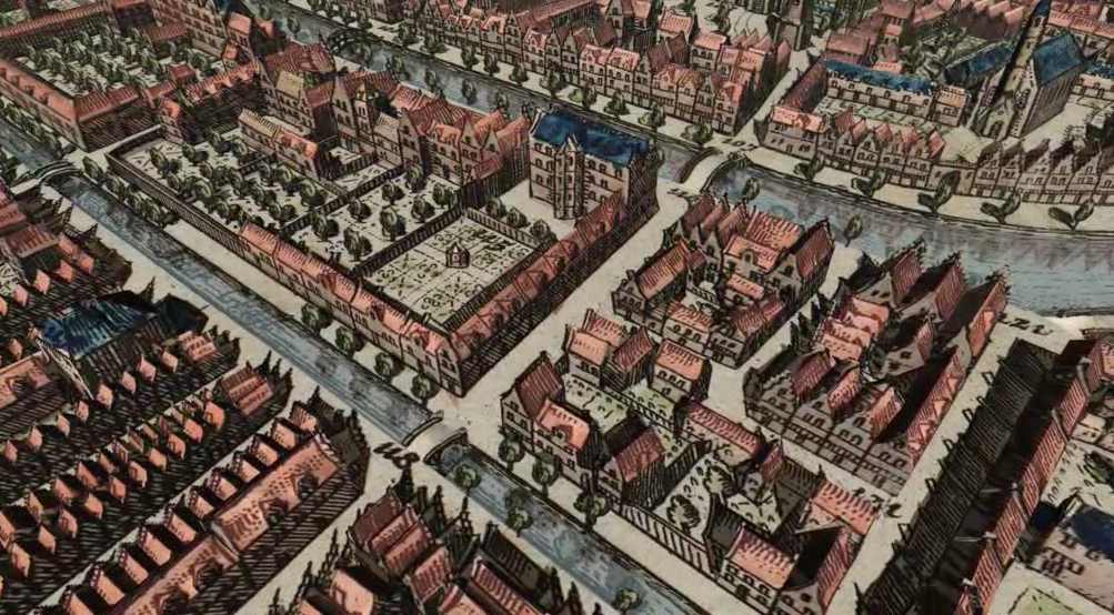 Leiden Digital - Screenshot from the movie