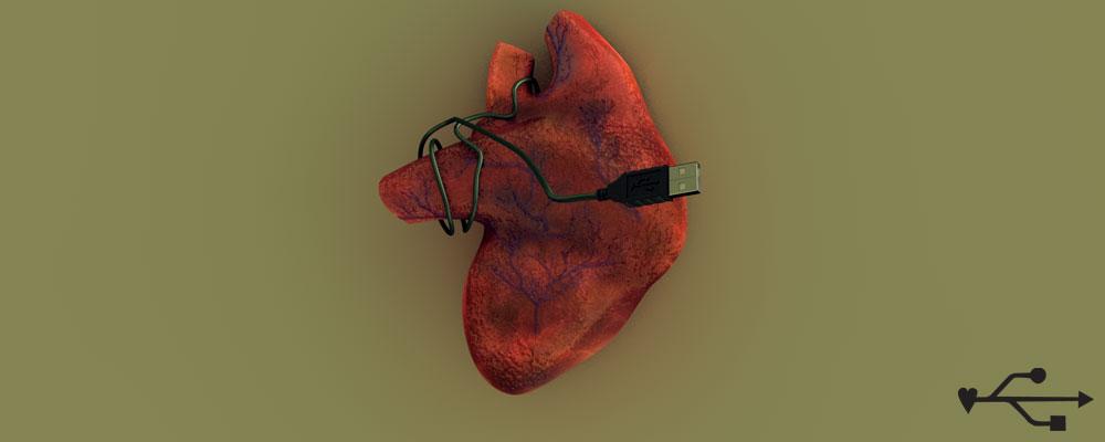 USB heart (2007)